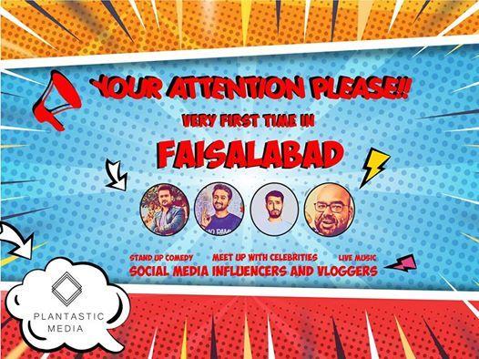 Fantastic Four at PlantasticMediaFaisalabad d ground, Faisalabad