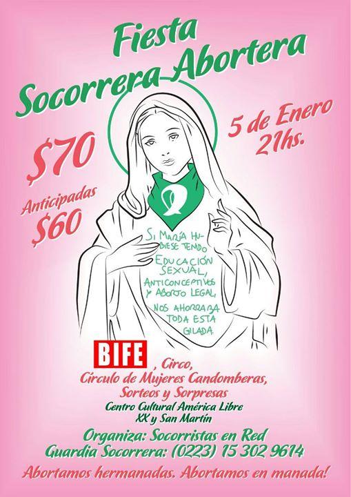 Fiesta Socorrera Aborteraaaa