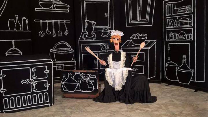 Spettacolo teatrale Cucina in punta di piedi