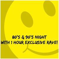 80s &amp 90s Night