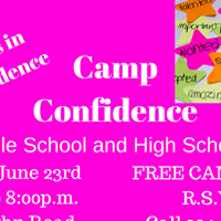 Camp Confidence Teens in Confidence