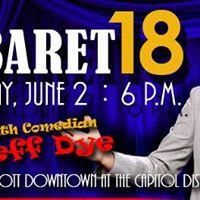 CSI Cabaret 2018  Featuring Comedian Jeff Dye