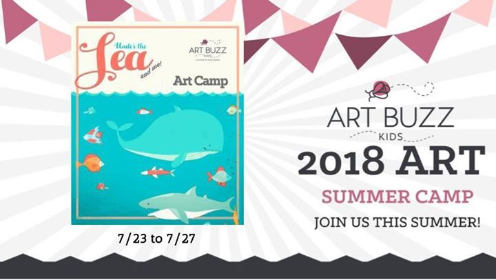 This is a five day kids camp focus on an Under the Sea theme