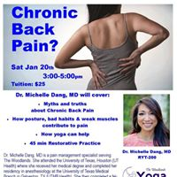 Chronic Back Pain with Dr. Michelle Dang MD