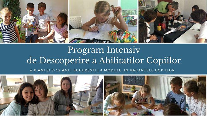 Program Intensiv de Descoperire a Abilitatilor Copiilor