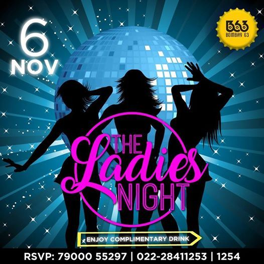 The Ladies Night every Tuesday