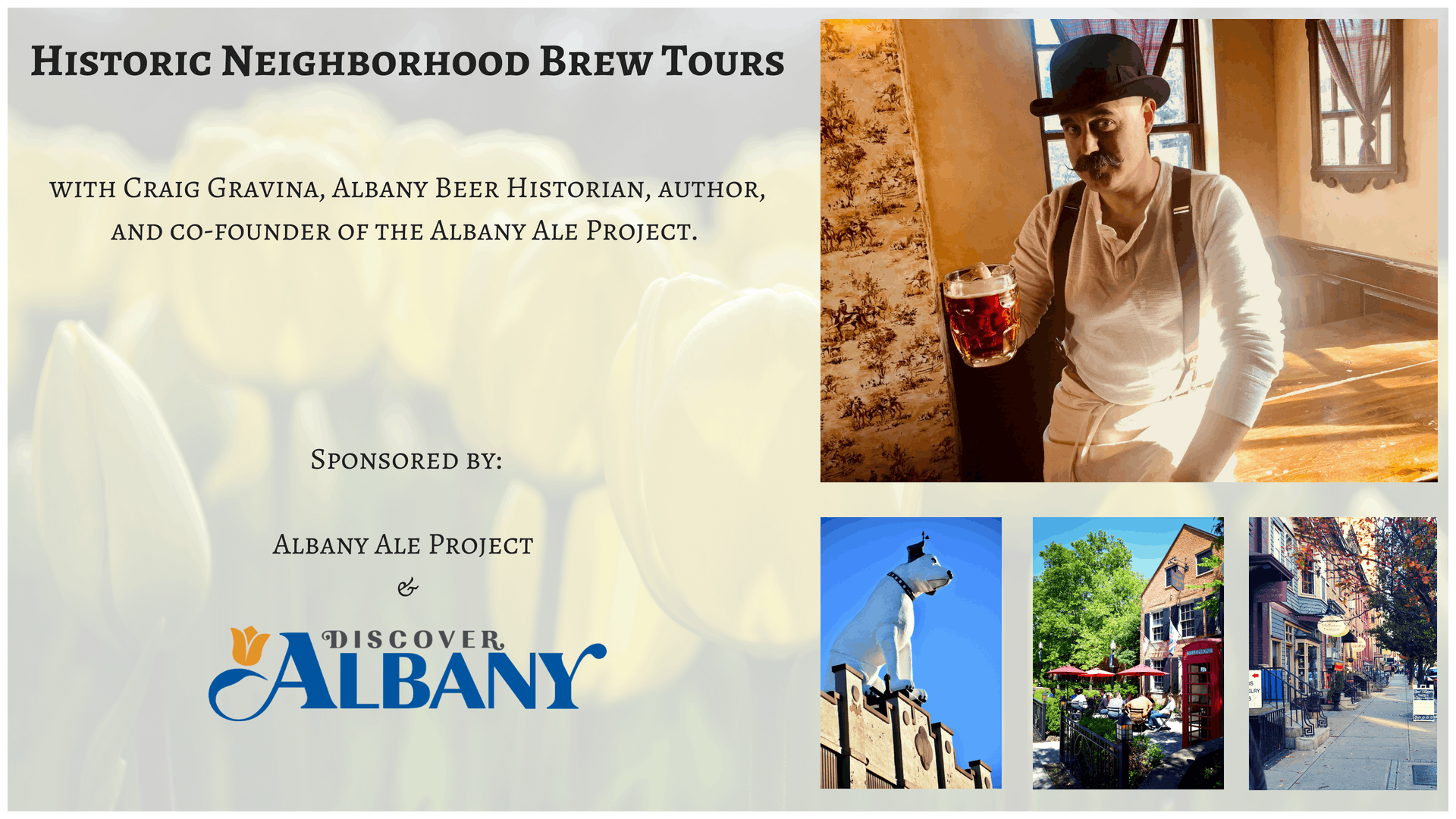 Historic Neighborhood Brew Tours - South End