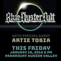 Artie Tobia supporting Blue Oyster Cult