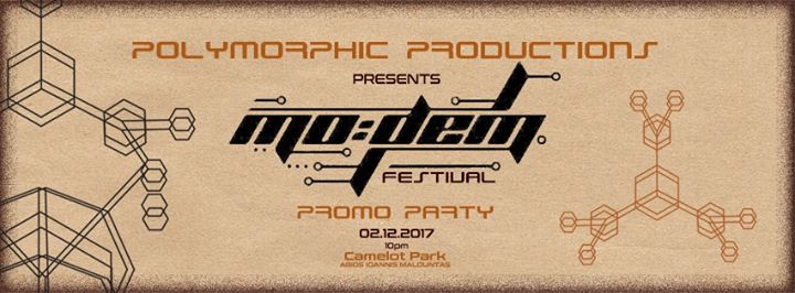 MODEM Festival Promo Party Cyprus by Polymorphic Productions