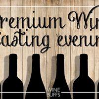 Premium Wine Tasting Evening