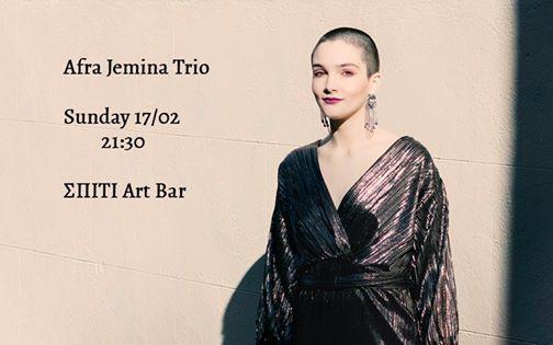 Afra Jemina Trio at  Art Bar