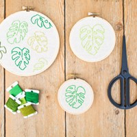 DIY Series Hand Stitched Hoop Art Workshop