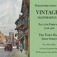 Stratford-upon-Avon Vintage &amp Handmade Fair
