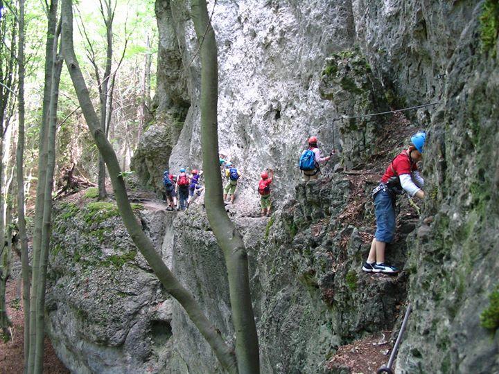 Klettersteig Near Munich : Klettersteig erlebnistour für familien at hirschbachtal hirschbach