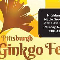 Pittsburgh Ginkgo Fest