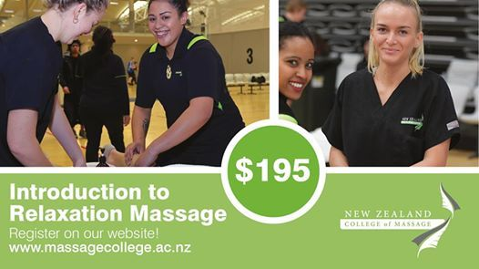 Wellington Intro to Relaxation Massage Workshop