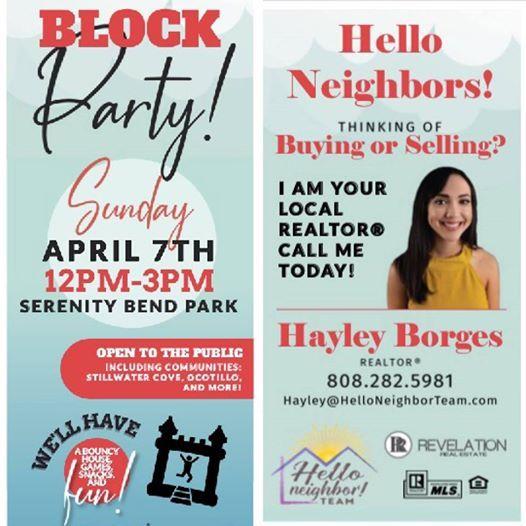 Ocotillo Spring Block Party
