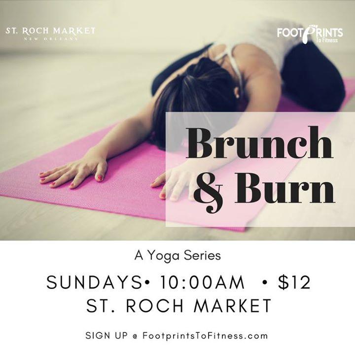 Brunch & Burn - A Yoga Series