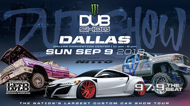 Dallas Dub Show At Kay Bailey Hutchison Convention Center - Dallas car show