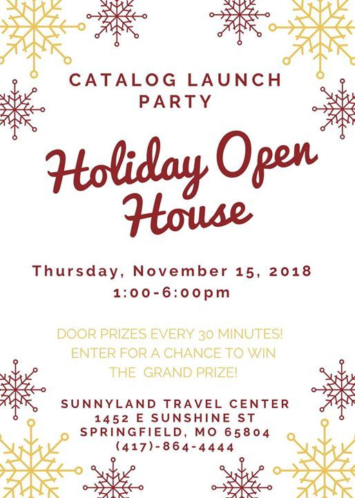 Annual Catalog Launch Party Holiday Open House