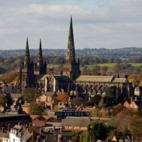 Lichfield for the day