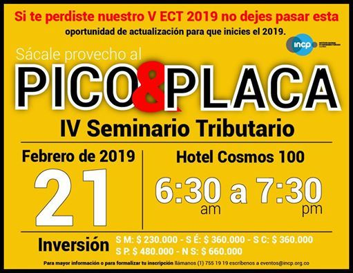 IV Seminario Tributario del 2019