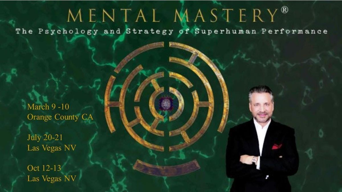 Mental Mastery and Power - VIP Admission