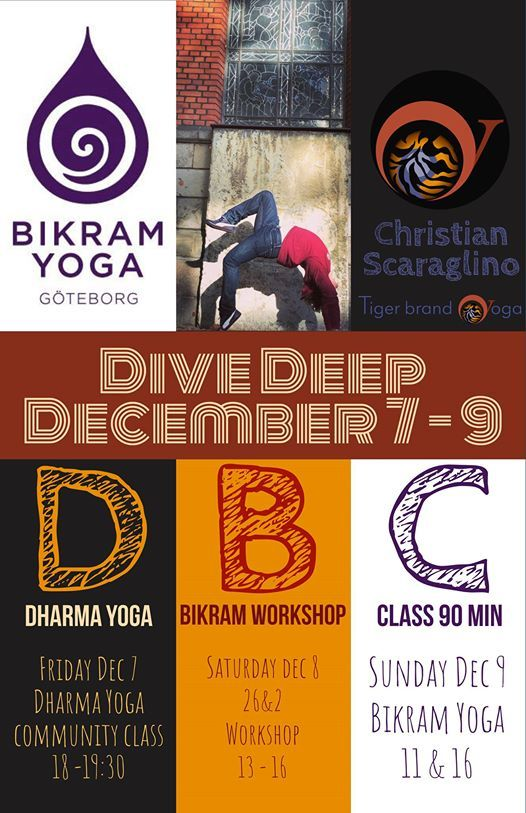 26   2 Workshop with Christian at Bikram Yoga GöteborgMätaregatan 2 ... 6baffdc7bae61