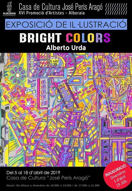 Bright Colors de Alberto Urda