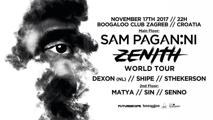 F Scope  Sam Paganini (IT)  Boogaloo Zagreb [17.11.2017]
