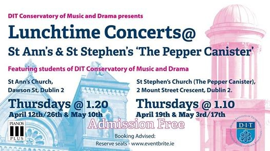 Lunchtime Concerts-St. AnnsSt. Stephens The Pepper Canister