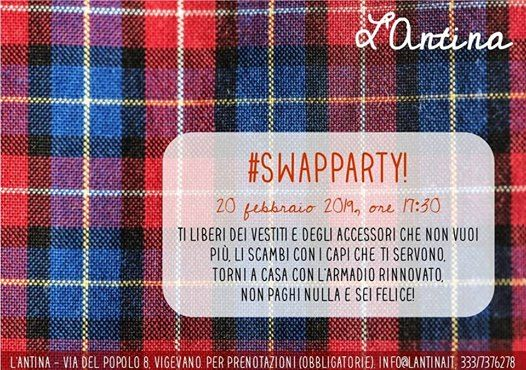 Swap party! Afternoon Edition at L Antina 9d6df1b83bb