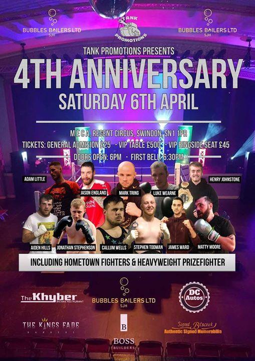 Tank Promotions 4th Anniversary at Swindon Meca, Swindon