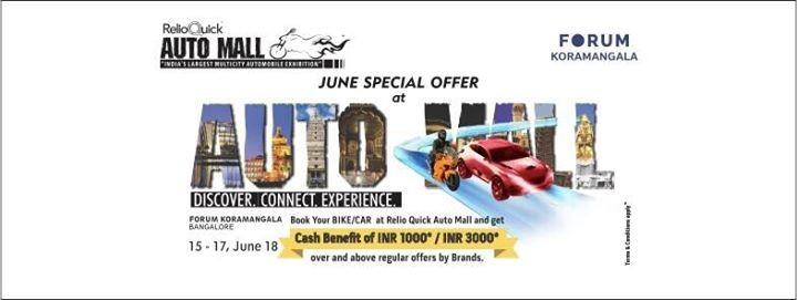Auto Mall at Forum Kormangala Bangalore
