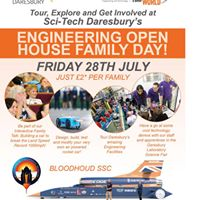 Engineering Open House Family Day at Daresbury Laboratory