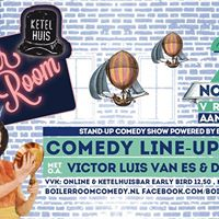 Boiler Room Comedy Line-up Show