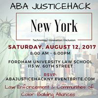 ABA JusticeHack New York