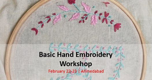 Basic Hand Embroidery Workshop