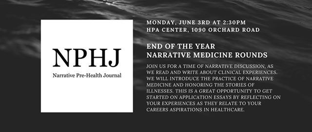 End-of-Year Narrative Medicine Rounds at Health Professions