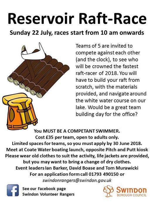 Reservoir Raft-Race