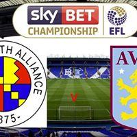 Sky Bet Championship. Small Heath Alliance v Aston Villa