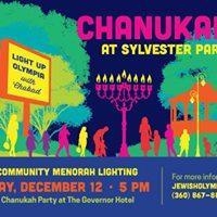 Chanukah Menorah Lighting and Party 2017