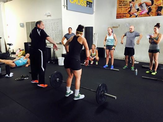 Garage gym sublette crossfit olympic weightlifting seminar wyoming