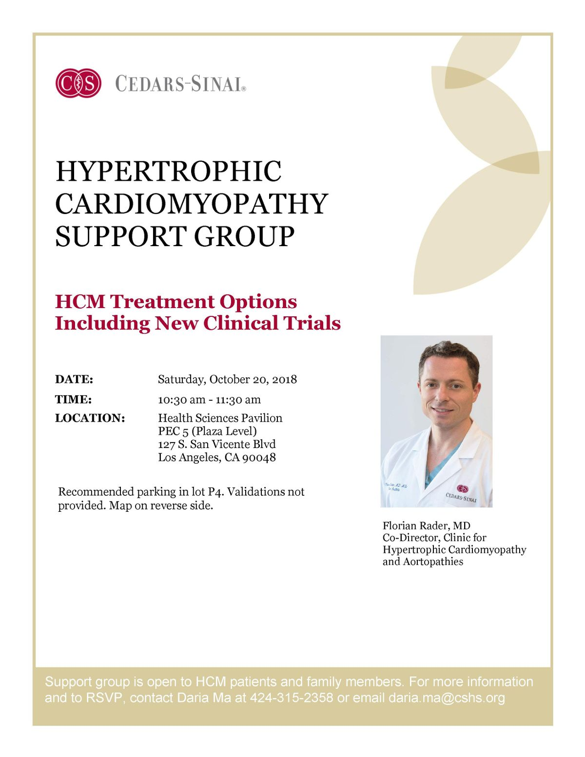Hypertrophic Cardiomyopathy Support Group at Cedars-Sinai