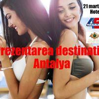 Prezentarea destinatiei Antalya