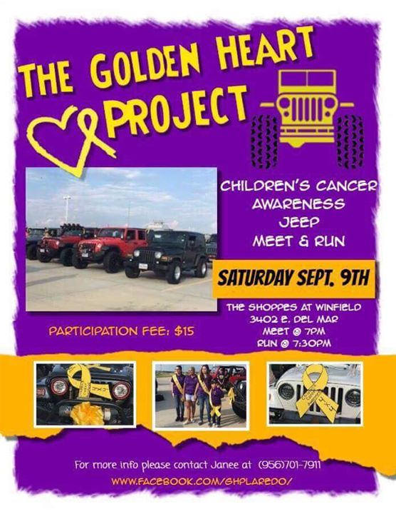 Ttjc Joining The Golden Heart Project At Discount Tire Laredo