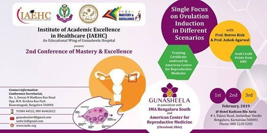 Mastery & Excellence - Single Conference On Ovulation Induction.