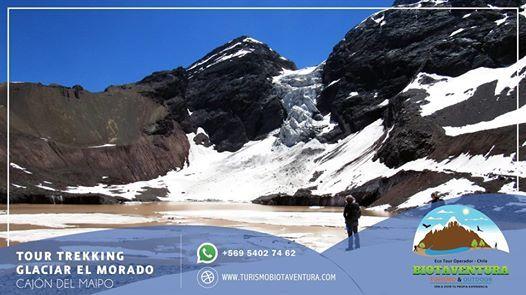 Trekking Glaciar colgante el Morado