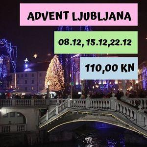 Advent u Ljubljani - polazak iz Rijeke