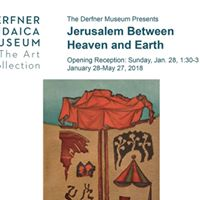 Exhibition Opening &quotJerusalem Between Heaven and Earth&quot